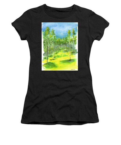 Birch Glen Women's T-Shirt (Athletic Fit)