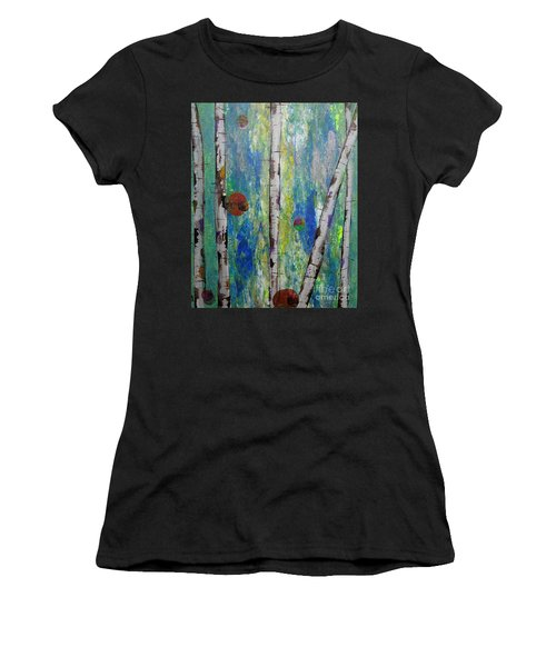 Birch - Lt. Green 4 Women's T-Shirt