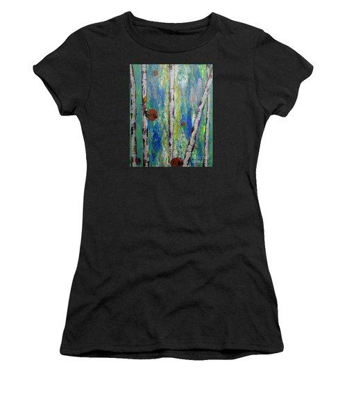 Birch - Lt. Green 4 Women's T-Shirt