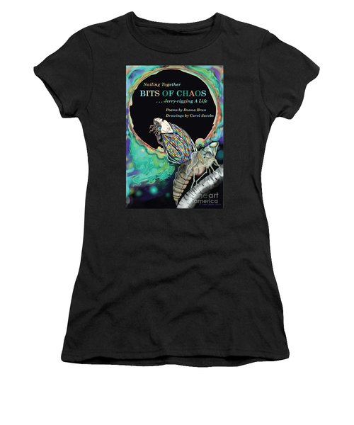 Bits Of Chaos Book Cover Women's T-Shirt (Athletic Fit)