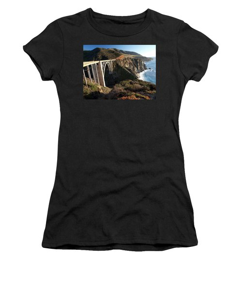 Bixby Bridge Afternoon Women's T-Shirt (Athletic Fit)