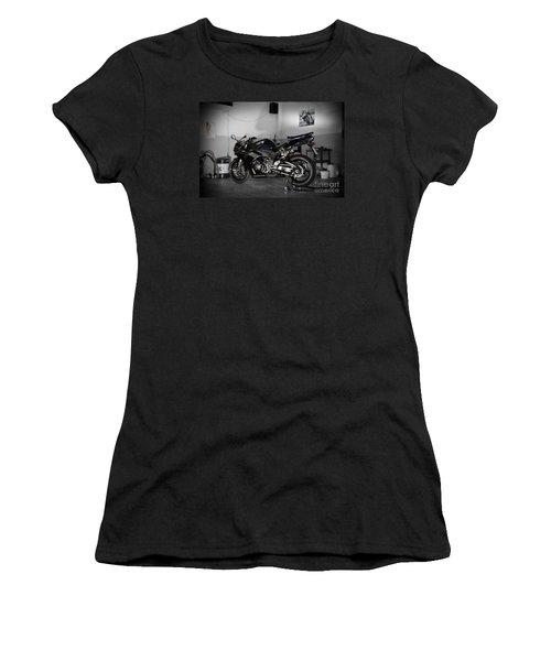 Black 2007 Honda Cbr1000rr Women's T-Shirt