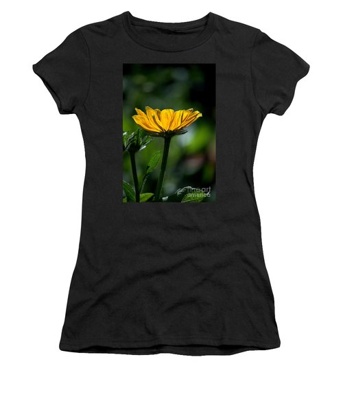 Black Eyed Susan Women's T-Shirt (Athletic Fit)