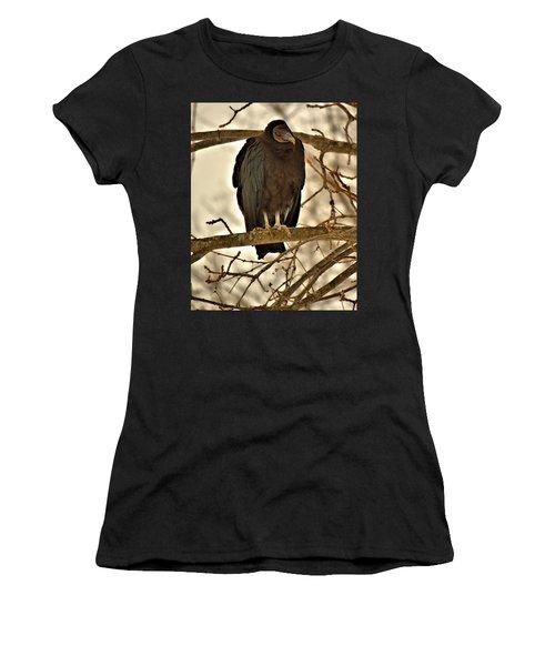 Black Vulture 1 Women's T-Shirt