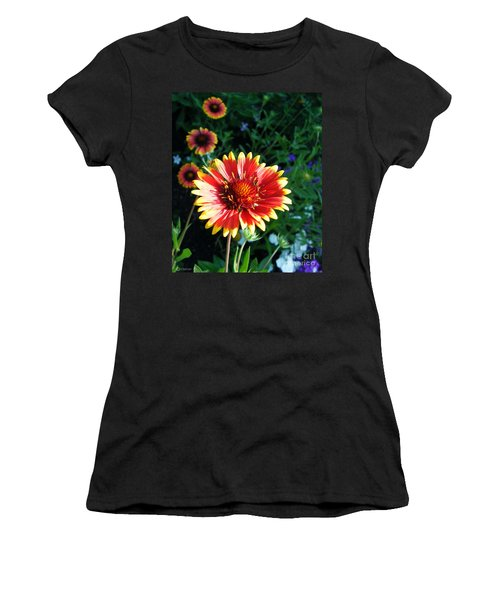Blanket Flower Women's T-Shirt (Athletic Fit)