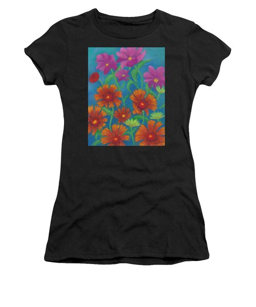 Blanket Flowers And Cosmos Women's T-Shirt