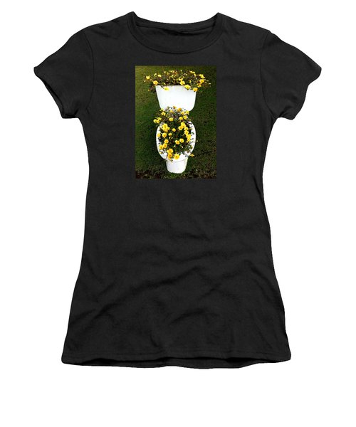 Blooming Loo Women's T-Shirt (Athletic Fit)