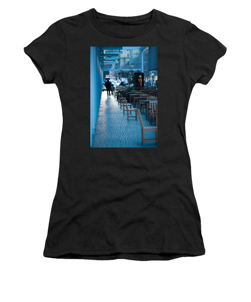 Blue Afternoon San Francisco Women's T-Shirt (Athletic Fit)