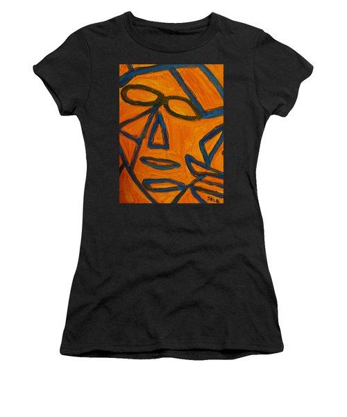 Blue And Orange Women's T-Shirt