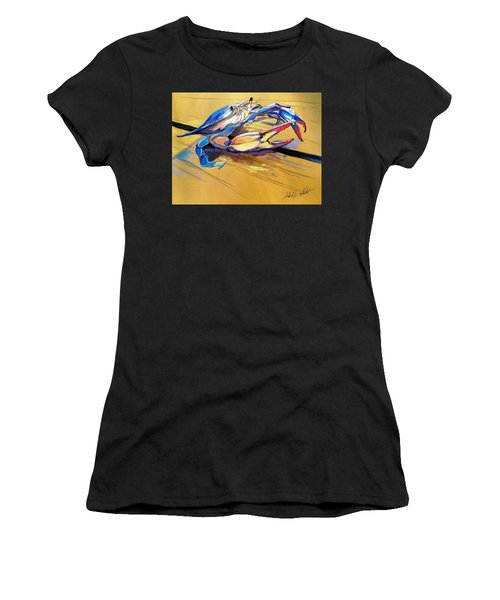 Blue Crabbie  Women's T-Shirt