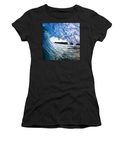 Blue Envelope  -  Part 2 Of 3 Women's T-Shirt (Athletic Fit)