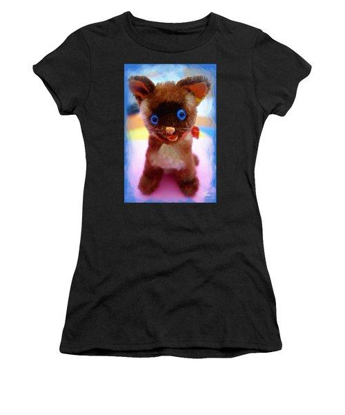 Blue Eyed Kitty Women's T-Shirt