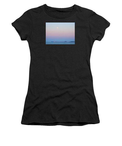 Blue Moon Eve Women's T-Shirt (Athletic Fit)