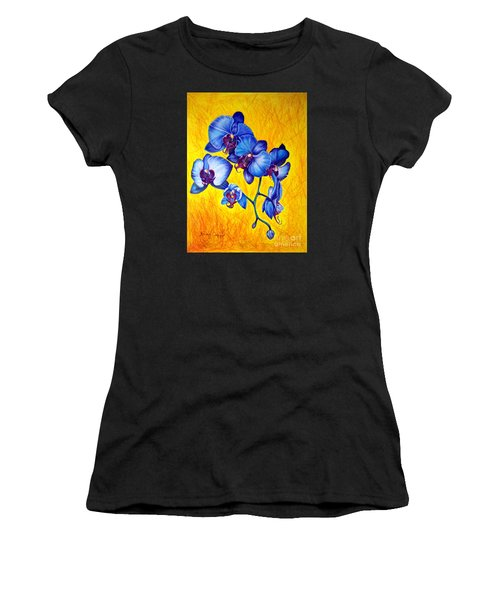 Blue Orchids 1 Women's T-Shirt