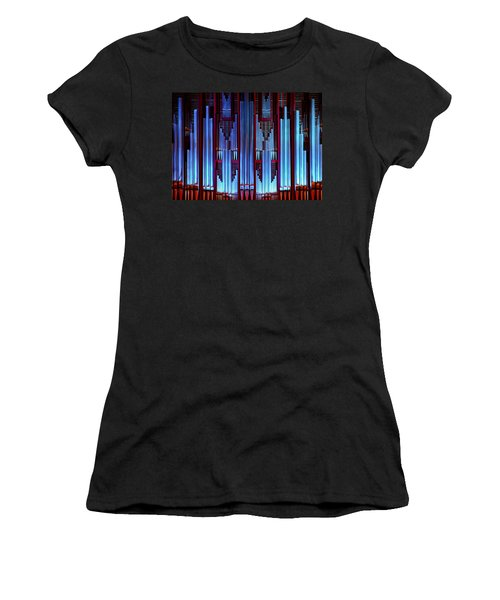 Blue Organ Pipes Women's T-Shirt
