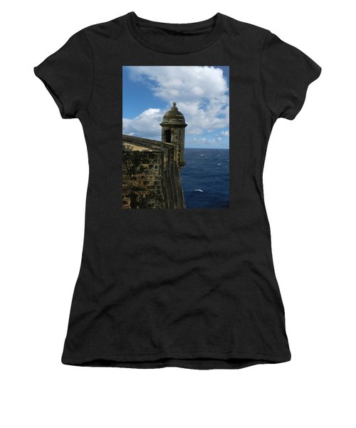 Blue Skies On The Horizon Women's T-Shirt (Athletic Fit)