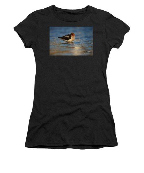 Blue Solitude Women's T-Shirt