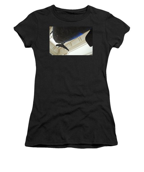 Blue Whale Experience Women's T-Shirt (Athletic Fit)