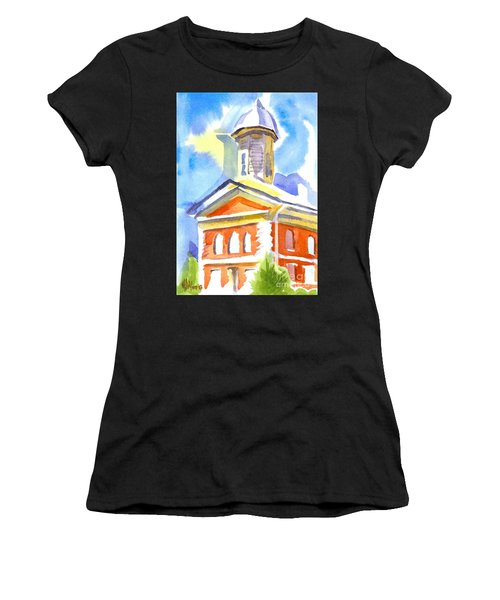 Blueberry Courthouse Women's T-Shirt