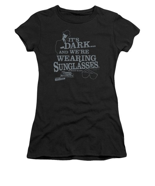 Blues Brothers - Its Dark Women's T-Shirt