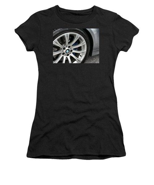 B M W M5 Women's T-Shirt (Athletic Fit)