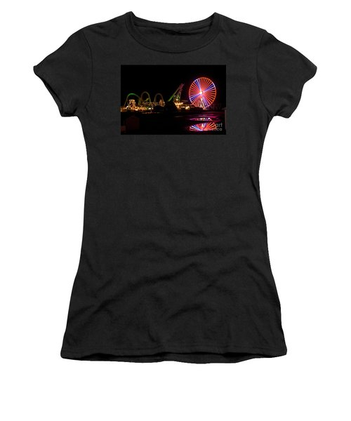 Boardwalk Night Women's T-Shirt (Athletic Fit)
