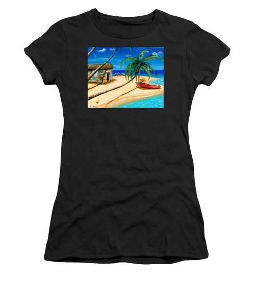 Boat Rent Women's T-Shirt (Athletic Fit)