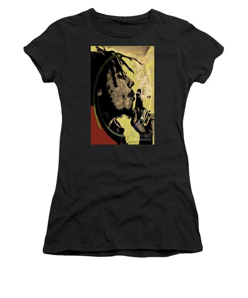 Bob Marley Women's T-Shirt (Athletic Fit)