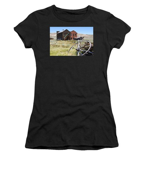 Bodie Ghost Town 3 - Old West Women's T-Shirt (Athletic Fit)