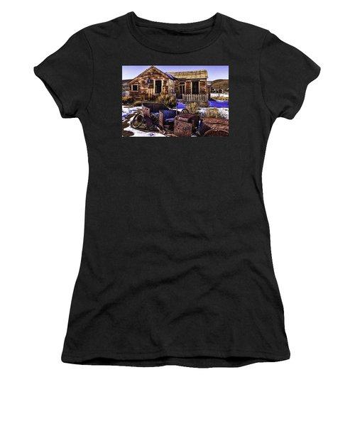 Women's T-Shirt (Junior Cut) featuring the painting Bodie by Muhie Kanawati