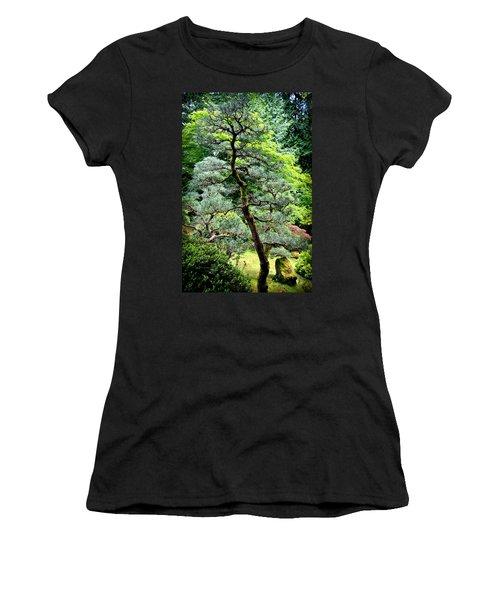 Bonsai Tree Women's T-Shirt (Junior Cut) by Athena Mckinzie