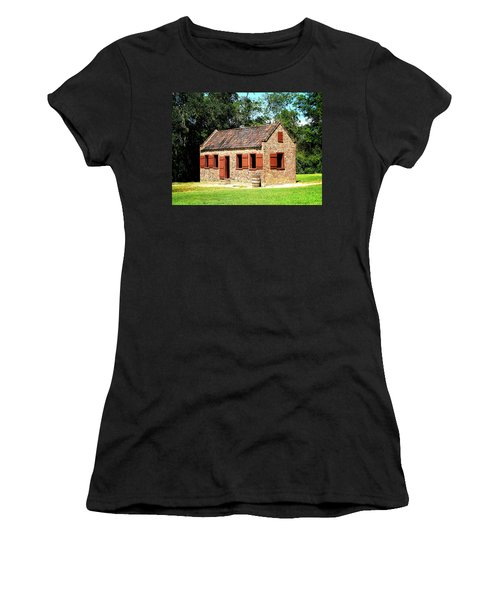 Boone Hall Plantation Slave Quarters Women's T-Shirt (Athletic Fit)
