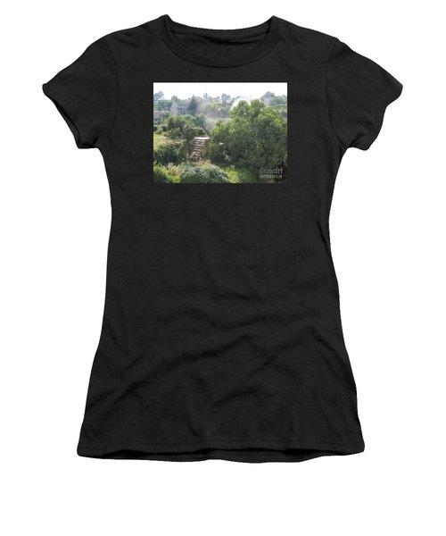 Bordeaux Village Cloud Of Smoke  Women's T-Shirt