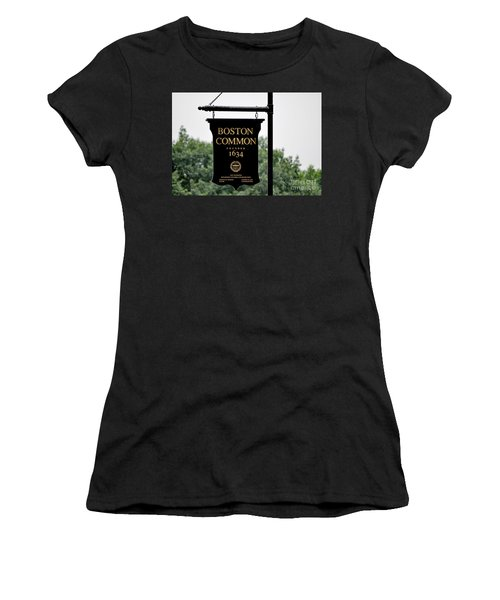 Boston Common Ma Women's T-Shirt