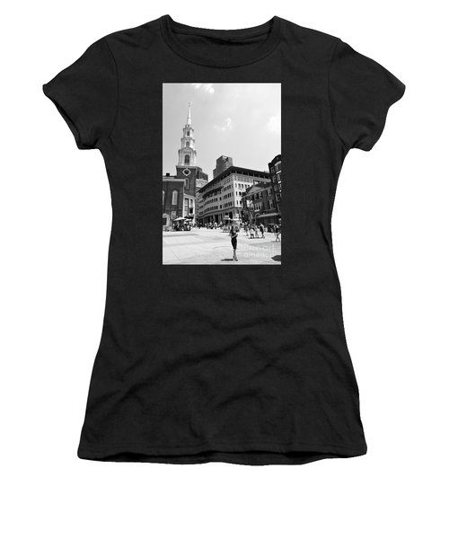 Boston Common Scene Women's T-Shirt