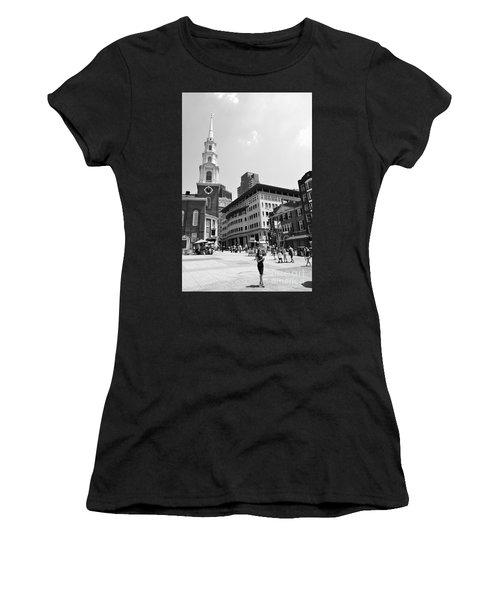 Boston Common Scene Women's T-Shirt