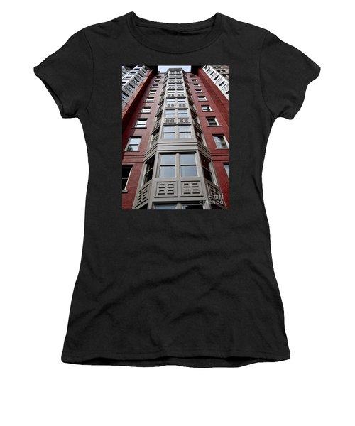 Boston Skyscraper Women's T-Shirt (Athletic Fit)