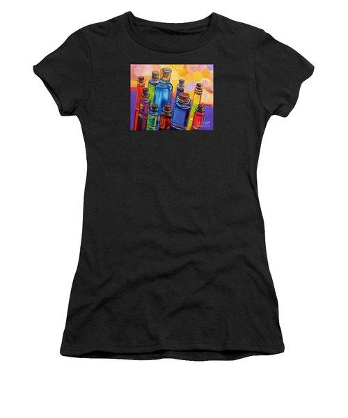 Bottled Rainbow Women's T-Shirt (Athletic Fit)