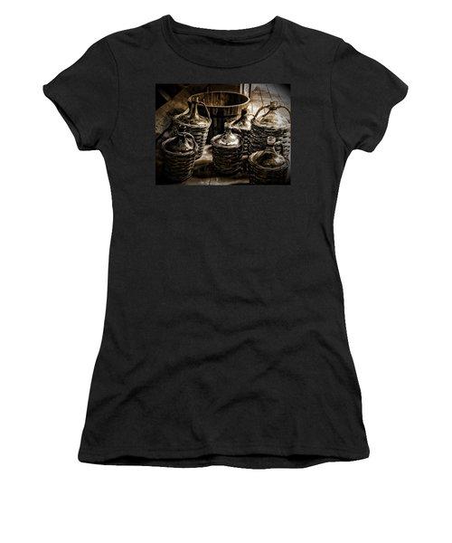 Bottles Women's T-Shirt (Athletic Fit)