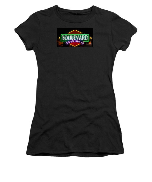 Boulevard Brewing Women's T-Shirt (Athletic Fit)