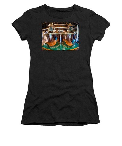 Bourbon Stills Women's T-Shirt (Junior Cut) by Alexey Stiop