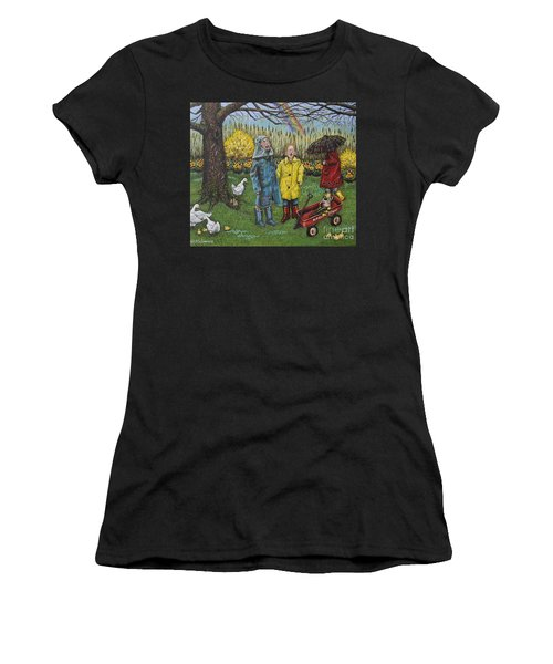 Boys Are What Ever Women's T-Shirt (Junior Cut) by Linda Simon