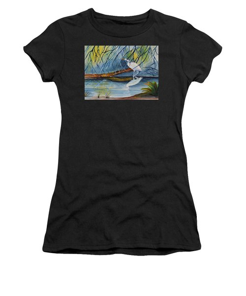 Branching Off Women's T-Shirt (Athletic Fit)
