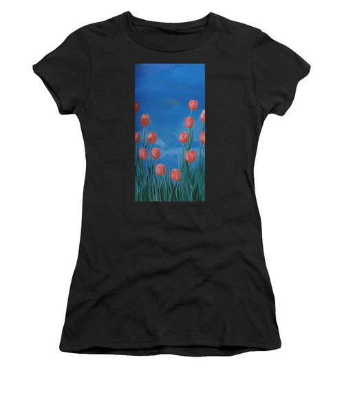 Breath Of Spring Women's T-Shirt (Athletic Fit)