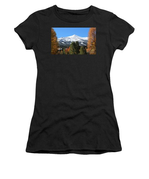 Breckenridge Colorado Women's T-Shirt (Athletic Fit)