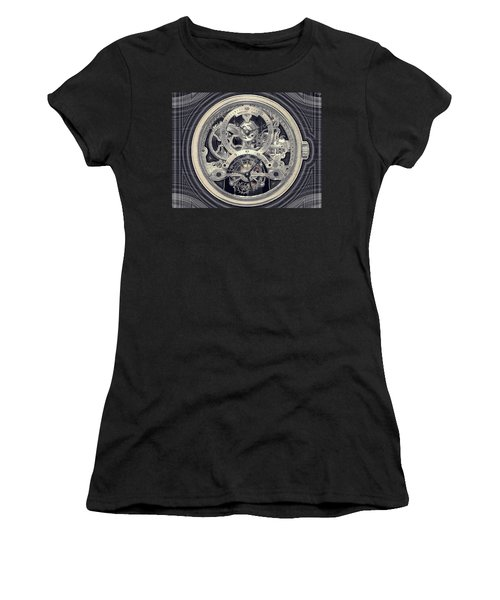 Breguet Skeleton Women's T-Shirt (Athletic Fit)