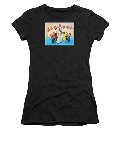 Bridal Invitation Women's T-Shirt (Athletic Fit)