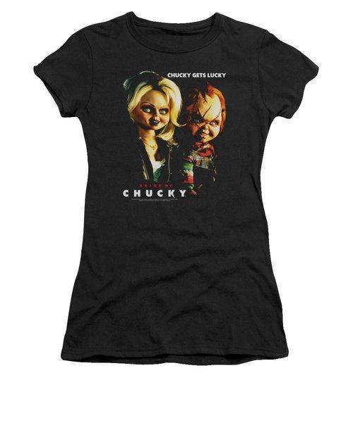 Bride Of Chucky - Chucky Gets Lucky Women's T-Shirt