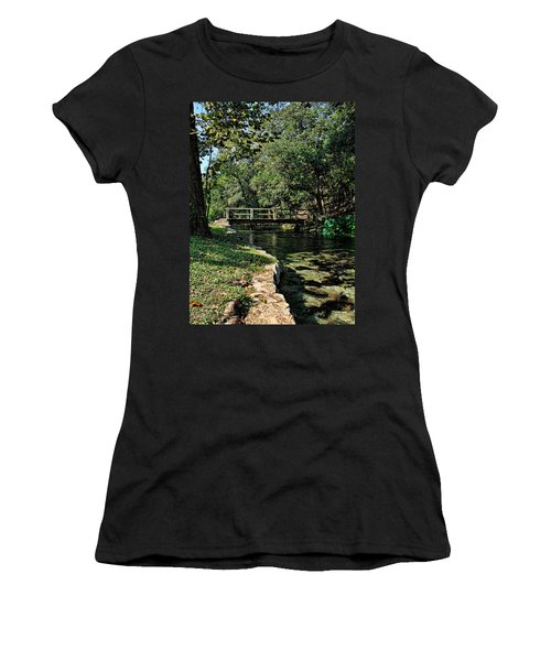Bridge Of Serenity Women's T-Shirt (Athletic Fit)