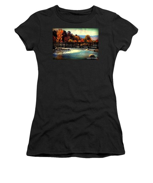 Bridge Over The Truckee River Women's T-Shirt (Athletic Fit)